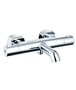 Wall thermostatic bath/shower mixer