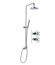 (KJ8218410) Wall thermostatic concealed shower mixer