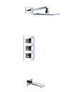 (KJ8068410) Wall thermostatic shower mixer