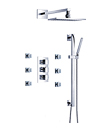 (KJ8068430) Wall thermostatic shower mixer