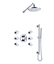 (KJ8078300) Wall thermostatic shower mixer