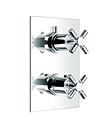 (KJ8214103) Wall thermostatic shower mixer with diverter